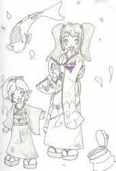 Tsuru - Kumiko for Flynfreako by VulpusxFelidae