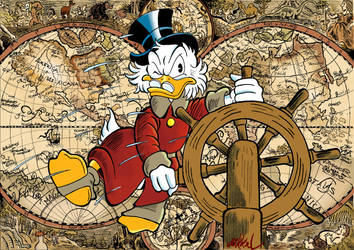 The Adventures of Scrooge McDuck by Mikkellll