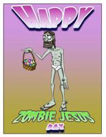 Happy zombie jesus day by BrainTreeStudios