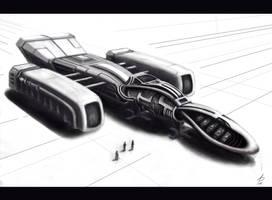 Spaceship by LadyShock