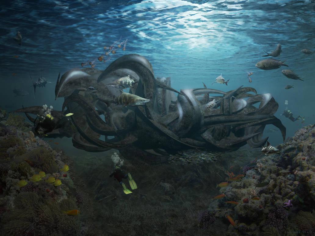 Underwater Part2 by LadyShock
