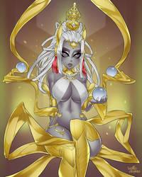 Goddess Sophia by velladonna