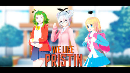 [MMD] PRISTIN - WE LIKE ( Motion DL ) by DollyMolly323