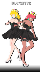 [MMD] TDA BOWSETTE (MODEL DL) by DollyMolly323