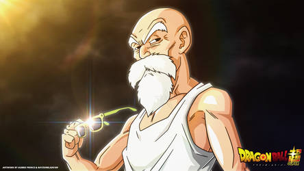 Master Roshi Wallpaper! by AubreiPrince