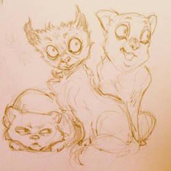 Kitty by Monaku