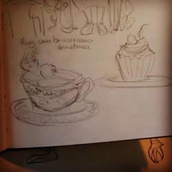 Tea and Cake by Monaku