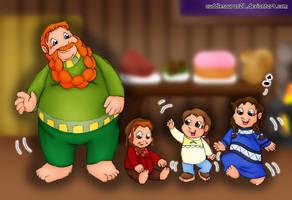 Hobbit Feet by cuddlesaurus21
