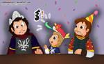 Happy New Year, King Aragorn! by cuddlesaurus21