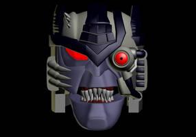 Wishmastered Dinobot II WIP 2 by WishmasterInRlyeh