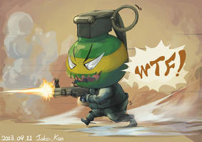 Grenades CT-M67 by jian894123078
