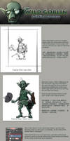 Wild Goblin Painting Process by jian894123078