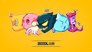 [ ZCOOL TEAM -Z- ] Wallpaper by jian894123078
