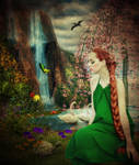 Spring's Day Dream by Elixirio