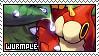 Wurmple fan stamp by Unknown-Shadow66