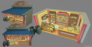 Spice Shop - Concept Sheet by the10s