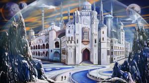 Space Citadel by Vilenchik