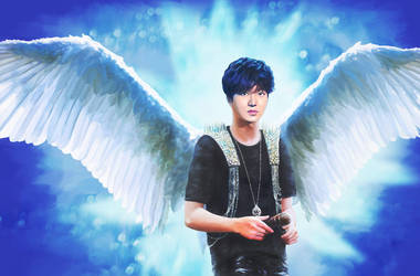 Singing Angel by Vilenchik