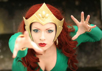 Mera - Aquaman I by Knightess-Rouge