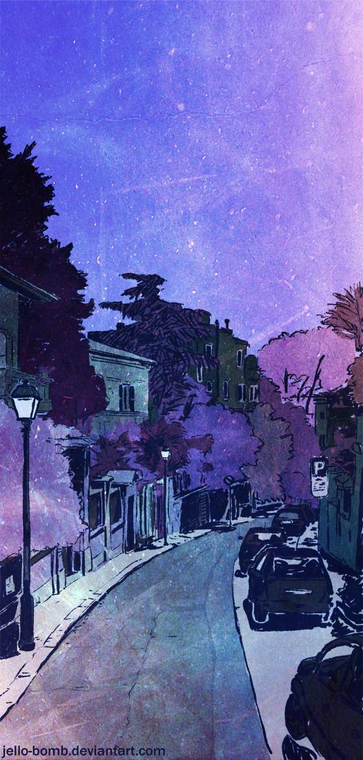 4 Via di Sant'Anselmo by jello-bomb