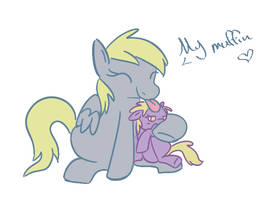 My Muffin by PonyGoggles