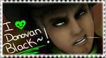 Mortal Kombat X - Donovan Black | Stamp by O-F-T-E-N