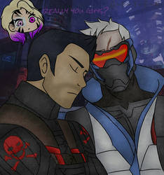 Overwatch - The Two Awesome Dads by O-F-T-E-N