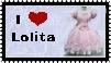 Sweet Lolita stamp by r0ckmom