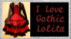 Gothic Lolita Stamp by r0ckmom