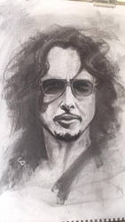 Chris Cornell portrait study by Parlare