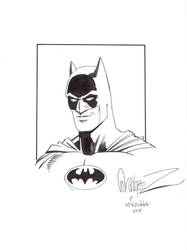 Garcia-Lopez and McKenna's Batman by ComicBookArtFiend