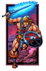 Beware the He-Man -- Steven Butler and Jesse Heagy by ComicBookArtFiend