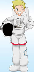 astronaut Willis/Wallace from digimon by smash222