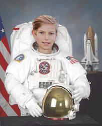 Astronaut Kid Photoshop by smash222