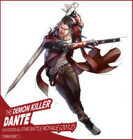 Dante (DmC) by Pryce14