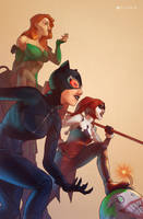Gotham City Sirens by Pryce14