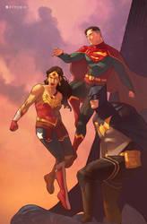 DC Trinity by Pryce14