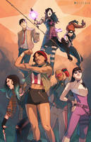 YOUNG AVENGERS - Dream Roster by Pryce14