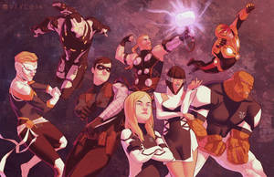 MIGHTY AVENGERS - Dream Roster by Pryce14