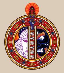 13G: Illuminated Moon Rune by magiy