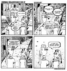 Terrible Delicatessen #16 by JustinMKnipper