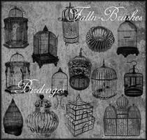 Birdcages Brushes Set 1 by Falln-Brushes