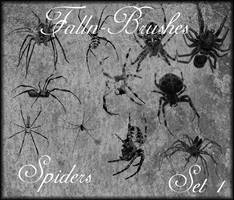 Spider Brushes Set 1 by Falln-Brushes