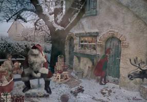 Santa: _ The countdown_*Santa: _La cuenta atras_ by Mvicen