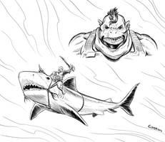 Shark Raiders 2 by CoaxDreams by Kaemgen