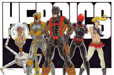 HEROICS in color by Dingodile24 by Kaemgen