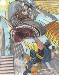 Shark Attack 1 starring Boltage... by Dingodile24 by Kaemgen