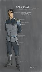 Cosmoforce Series 5 Null-G Service Dress Uniform by BlasterNT