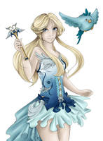 Magical Girl by BleedingIvory