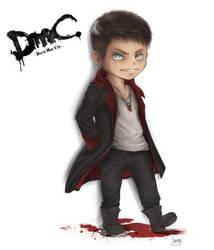 Chibi Dante [DmC] by BleedingIvory